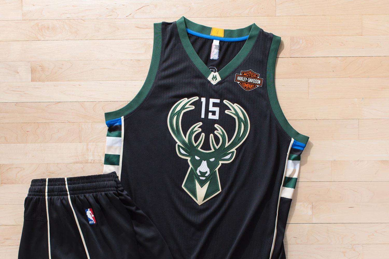 inexpensive milwaukee bucks game jerseys to feature harley davidson ... 0286371b7