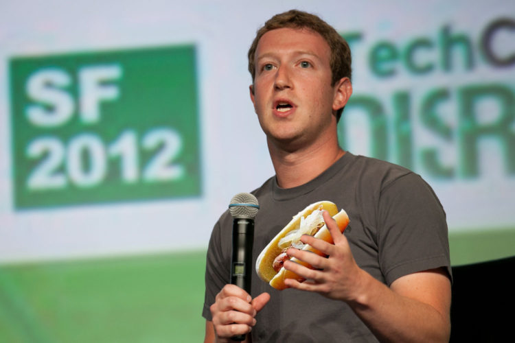 Mark Zuckerberg is in Madison and looking for a brat to eat