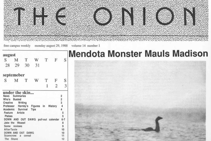 A brief history of the Lake Mendota Monster
