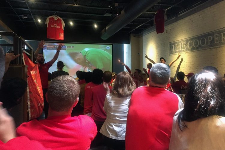 Some of Arsenal's biggest fans live in Madison