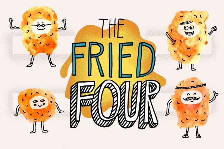 The Cheese Curd Bracket: The Fried Four