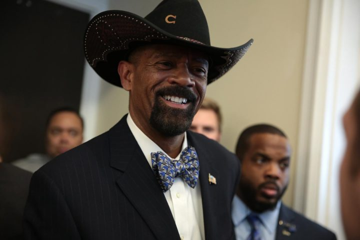 Controversial Milwaukee sheriff joins Trump administration, because of course he does