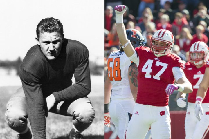 How many Wisconsin Badgers have been drafted in NFL history?