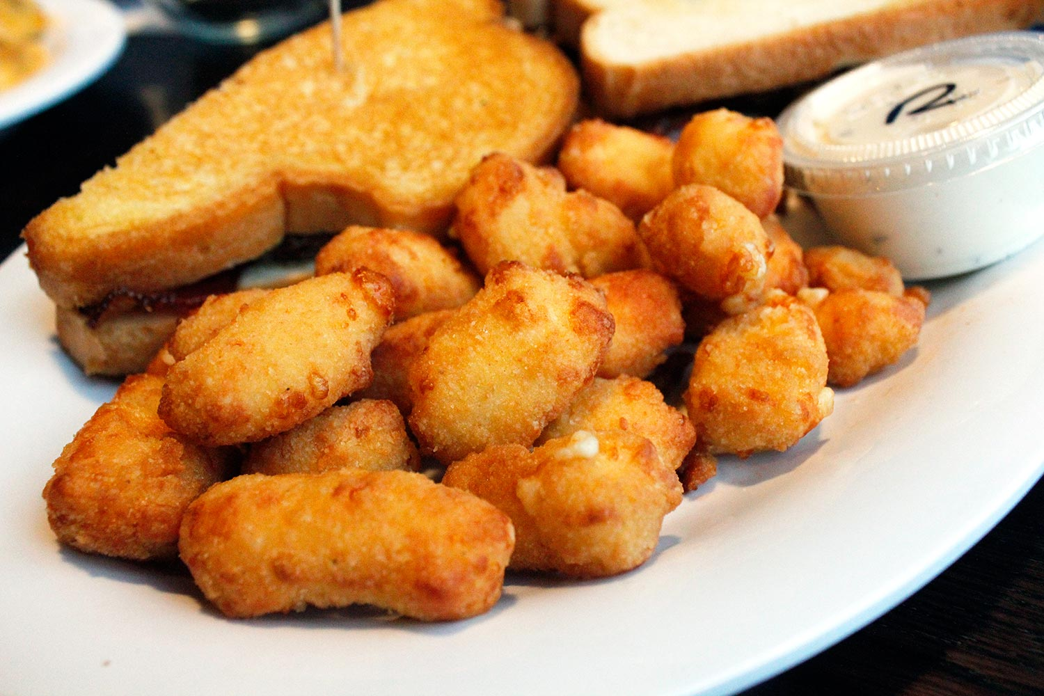 LJ's Sports Tavern's cheese curds