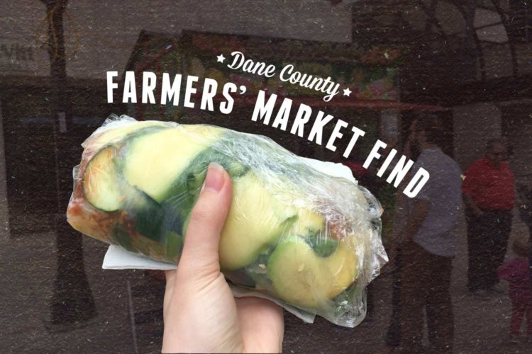 Farmers' Market Find: Avocado Spring Roll