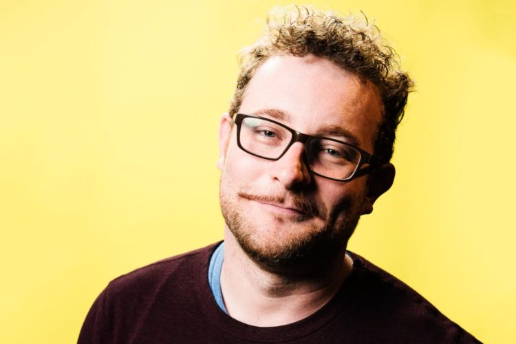 James Adomian on the importance of giggling at dark shit