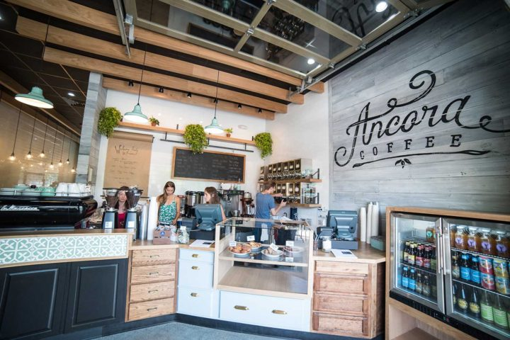The new Ancora Coffee on University Avenue is now open