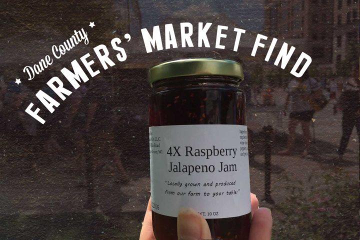 Farmers' Market Find: 4X Raspberry Jalapeño Jam by Land of O's