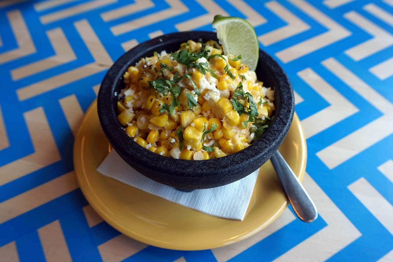BelAir Cantina roasted Mexican corn