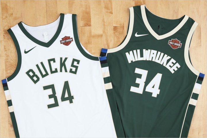 Milwaukee Bucks announce Harley-Davidson as jersey sponsor