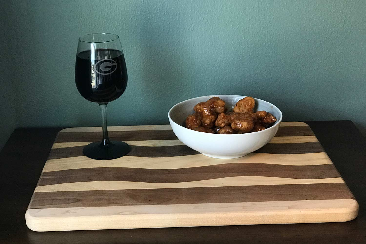 Ice Bowl wine and wings