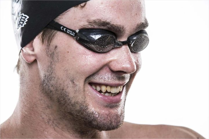 Former Badgers swimmer Matt Hutchins is back with a vengeance