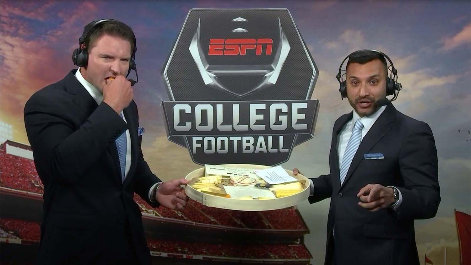 ESPN and cheese