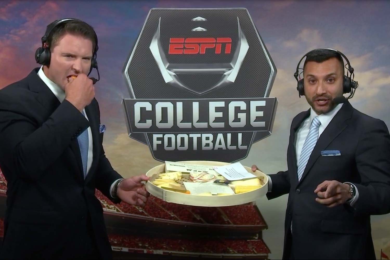 Espn S College Football Announcers Really Nailed Madison The Bozho
