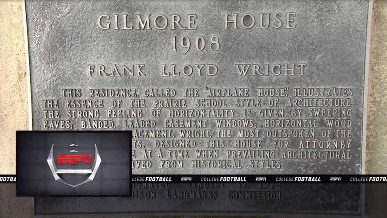 Gilmore House plaque