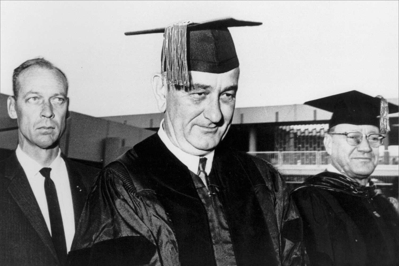 Lyndon Johnson at Florida Atlantic