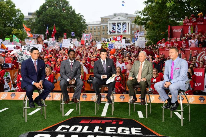 Who will be the celebrity picker on ESPN's College GameDay?