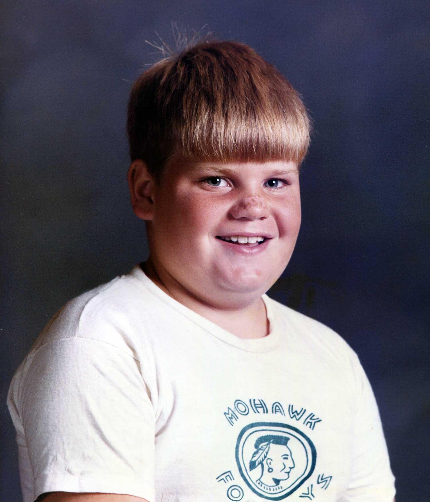 Chris Farley boyhood