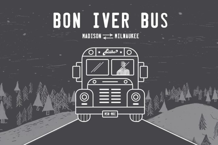 Bon Iver Bus: A roundtrip ride on Feb. 17, Madison ⇄ Milwaukee