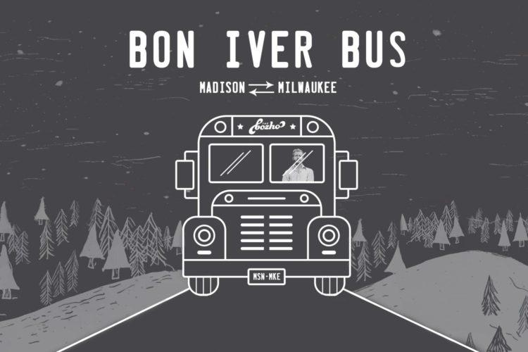 Bon Iver Bus: A roundtrip ride on Feb. 17, Madison ⇄ Milwaukee