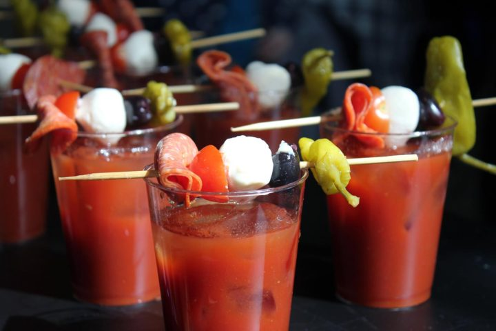 Drink bloodies for bleeding disorders at Madison's Best Bloody