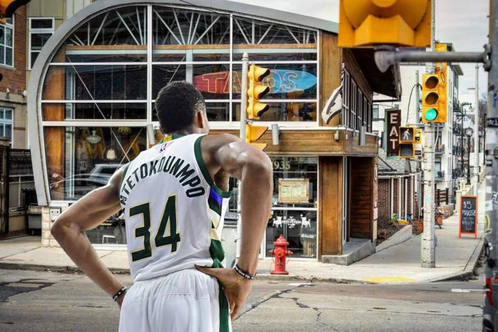 Much ado about nothing: Giannis ignored at MKE restaurant like a regular customer