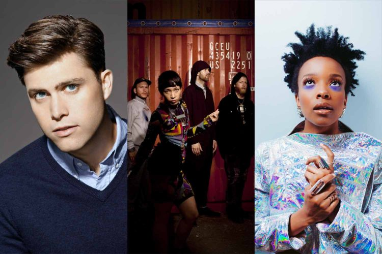 Coming soon: Colin Jost, Little Dragon, Jamila Woods