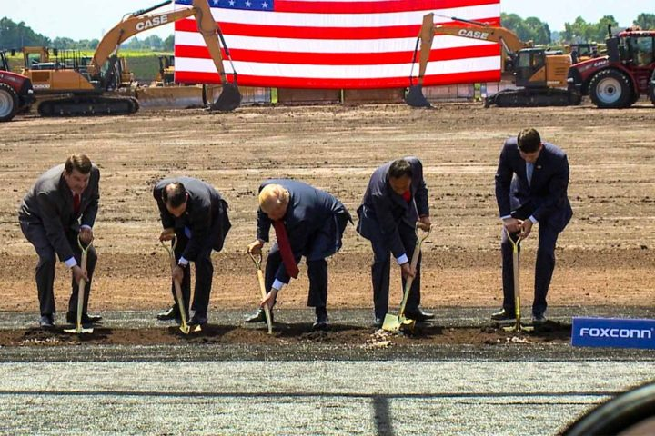 President Trump visits Wisconsin for Foxconn groundbreaking