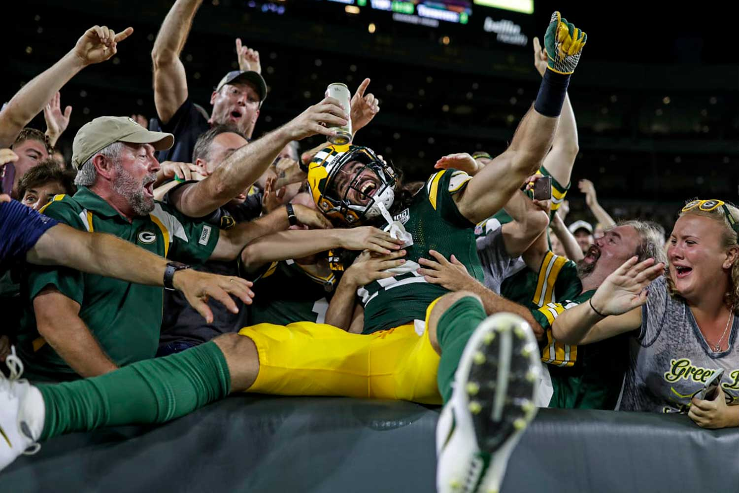 promo code 51ed8 31f7d Jake Kumerow is the Packers' latest Great White Hope | The Bozho