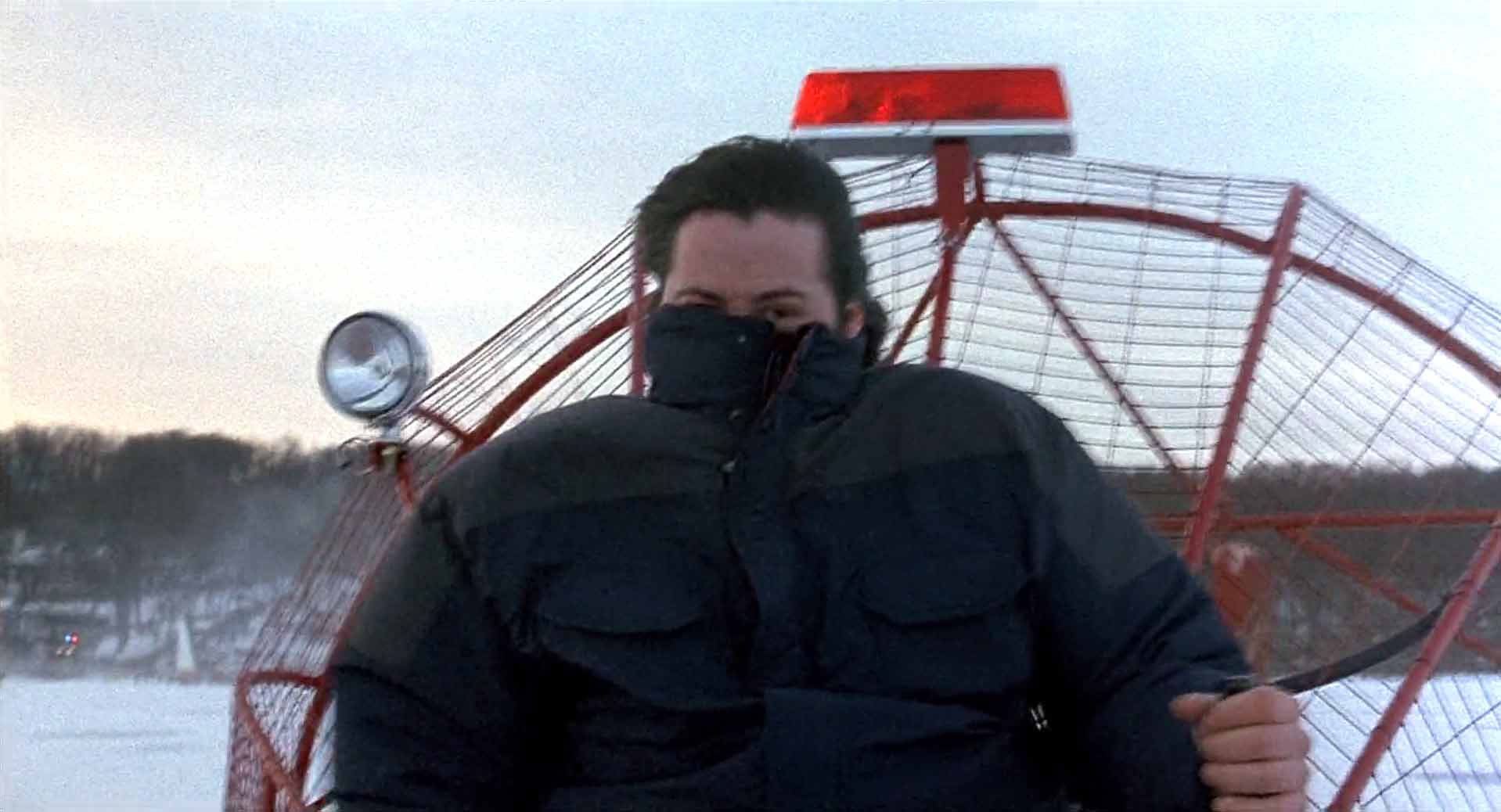 Brrrr Keanu cold