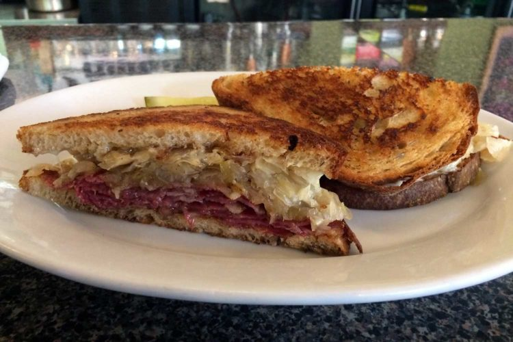 The Great Sandwich Quest: Reuben at Stalzy's