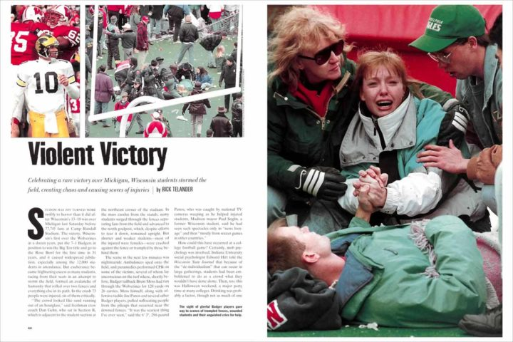 The Camp Randall Stadium stampede, 25 years later