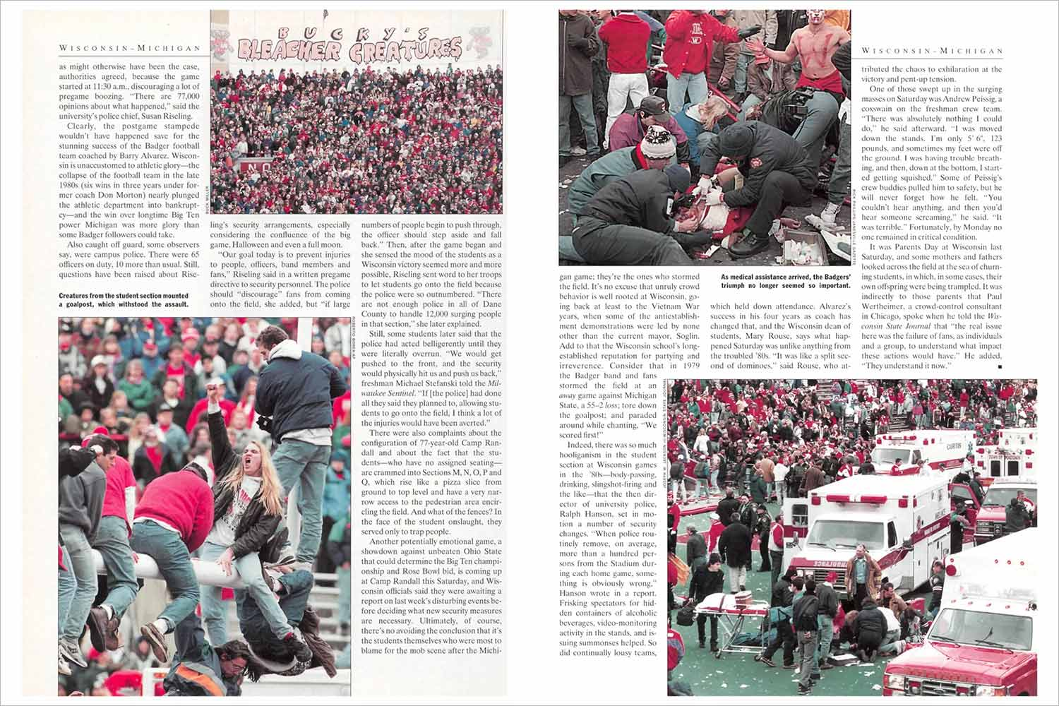 Camp Randall in Sports Illustrated
