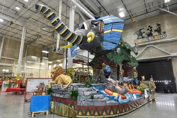 Kalahari has a float in the Macy's Parade. Wait, what?