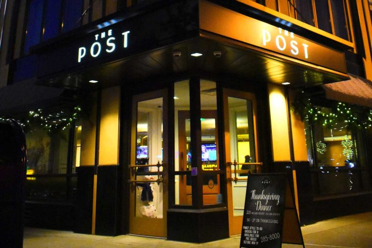 Happy hour at The Post offers respite from real life with BOGO drinks