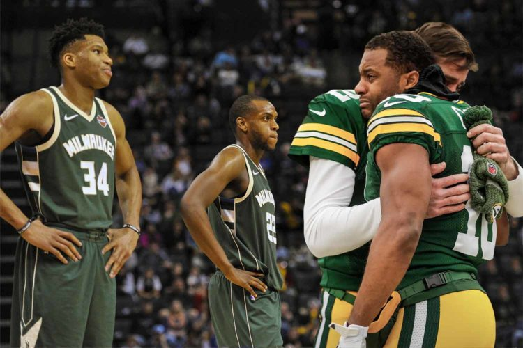 Cheer up, sad Packers fans. The Bucks are good and need your fandom, too.