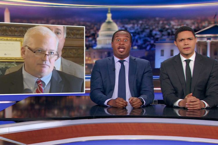 The Daily Show derides Wisconsin's post-election voter suppression