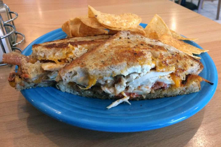 The Great Sandwich Quest: Crema Cafe's hot chick