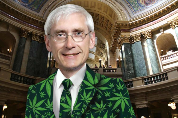 Cool guy Tony Evers wants to decriminalize weed