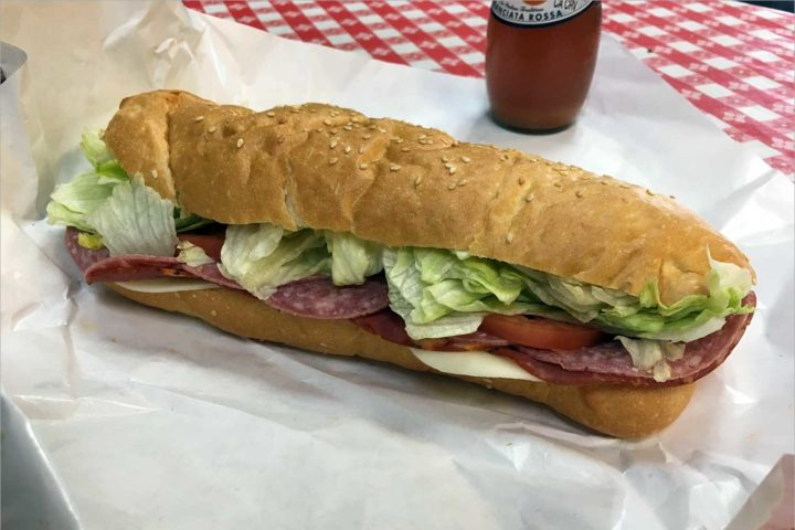 The Great Sandwich Quest: Fraboni's Italian
