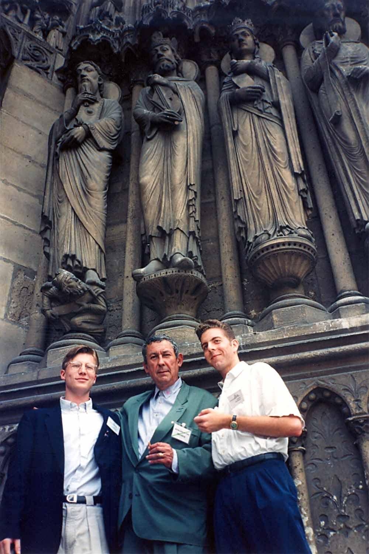 Nick Nice in Paris in 1992