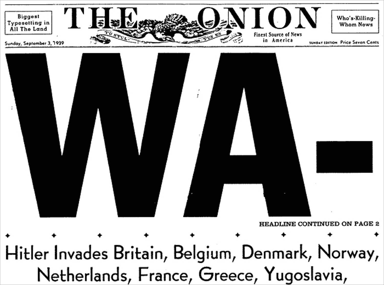 WA- (headline continued on page 2)