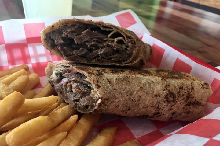 The Great Sandwich Quest: Mad Shawarma's meat shawarma