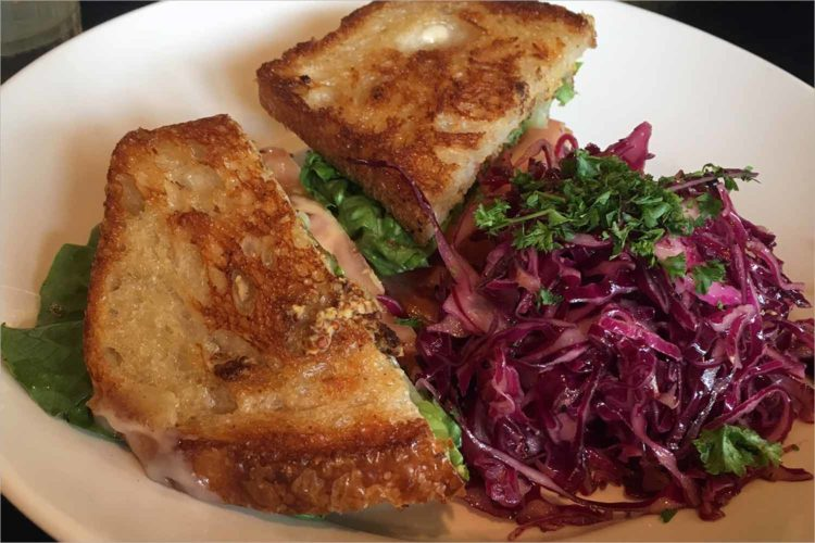 The Great Sandwich Quest: Marigold Kitchen's hot ham and Swiss