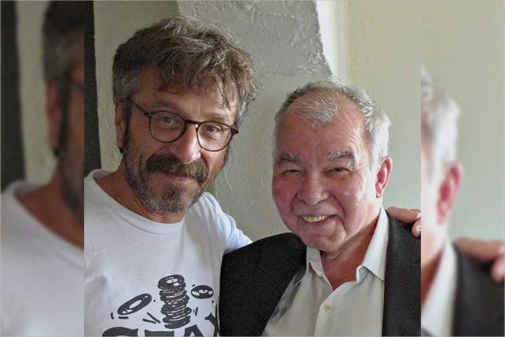 John Prine visited Marc Maron's WTF podcast in 2016