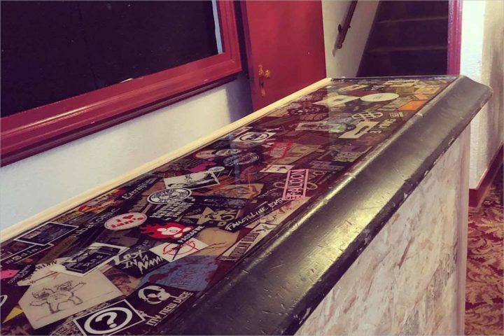 The Frequency's bartop has found a new home in Waterloo