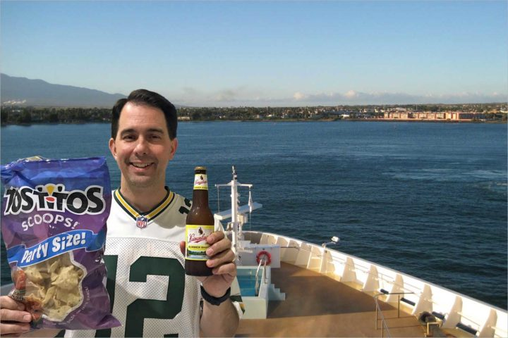 Take a Hawaiian vacation cruise with… Scott Walker?