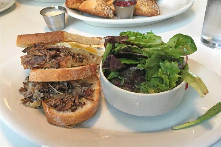 The Great Sandwich Quest: Bassett Street Brunch Club's pot roast and egg