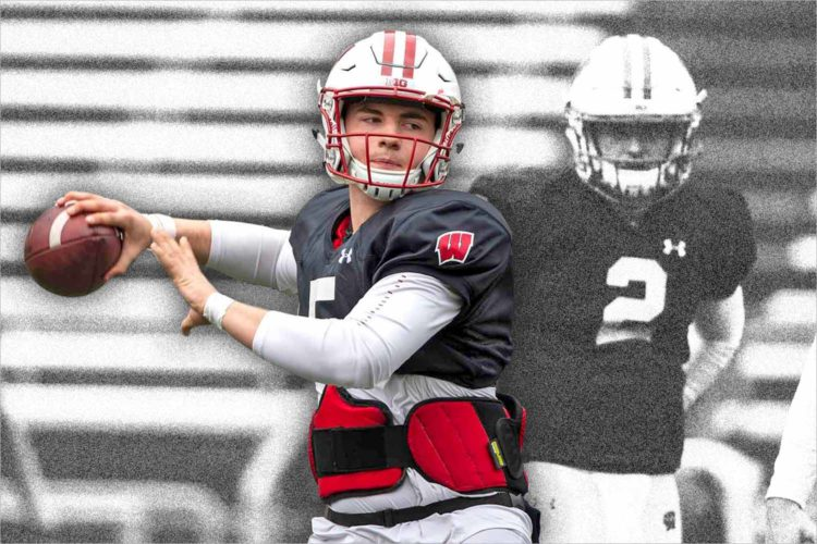 Is Graham Mertz the next great Wisconsin Badger?