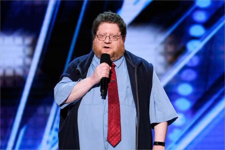Local comic Kevin Schwartz appears on America's Got Talent